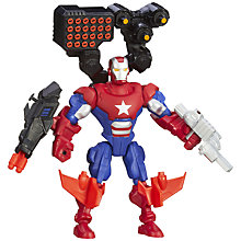 Buy Marvel Super Hero Mashers Iron Patriot Action Figure Online at johnlewis.com