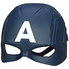 Buy Avengers Age of Ultron Captain America Play Mask Online at johnlewis.com