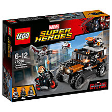 Buy LEGO Super Heroes Marvel Captain America Civil War Crossbone Hazard Heist Online at johnlewis.com