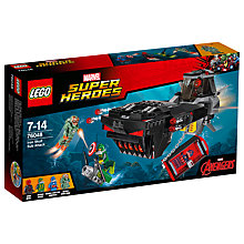 Buy LEGO Super Heroes Marvel Iron Skull Sub Attack Online at johnlewis.com