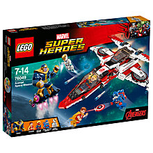 Buy LEGO Super Heroes Marvel Avenjet Space Mission Online at johnlewis.com