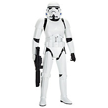 "Buy Star Wars: Episode VII The Force Awakens 31"" First Order Stormtrooper Giant Action Figure Online at johnlewis.com"