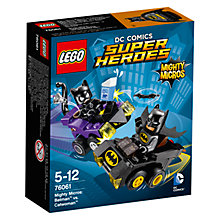 Buy LEGO Super Heroes DC Comics Mighty Micros Batman Vs. Catwoman Online at johnlewis.com