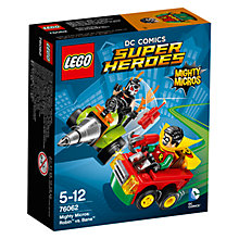 Buy LEGO Super Heroes DC Comics Mighty Micros Robin Vs. Bane Online at johnlewis.com