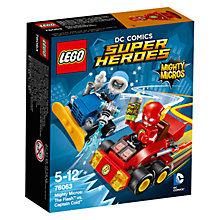 Buy LEGO Super Heroes DC Comics Mighty Micros The Flash Vs. Captain Cold Online at johnlewis.com