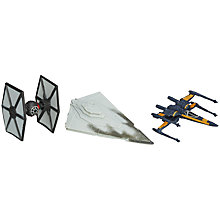 Buy Star Wars Micro Machines The First Order Attacks Figurines Set Online at johnlewis.com