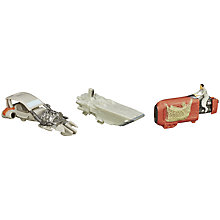 Buy Star Wars Micro Machines Speeder Chase Figurines Set Online at johnlewis.com