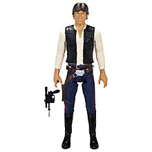 "Buy Star Wars: Episode VII The Force Awakens 18"" Hans Solo Action Figure Online at johnlewis.com"