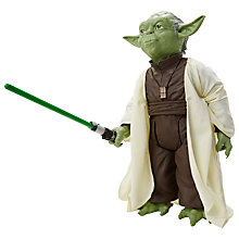 "Buy Star Wars: Episode VII The Force Awakens 31"" Yoda Giant Action Figure Online at johnlewis.com"