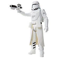 "Buy Star Wars: Episode VII The Force Awakens 18"" First Order Snowtrooper Action Figure Online at johnlewis.com"