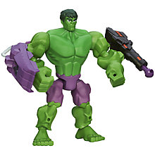 Buy Marvel Super Hero Mashers Incredible Hulk Action Figure Online at johnlewis.com