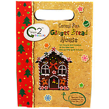 Buy Trash 2 Treasure Cereal Box Ginger Bread House Craft Kit Online at johnlewis.com