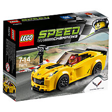 Buy LEGO Speed Champions Chevrolet Corvette Z06 Online at johnlewis.com