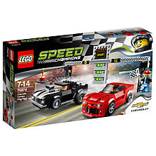 Buy LEGO Speed Champions Chevrolet Camaro Drag Race Online at johnlewis.com