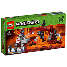 Buy LEGO Minecraft 21126 The Wither Online at johnlewis.com