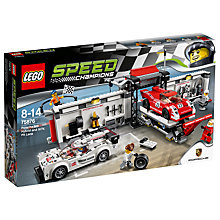 Buy LEGO Speed Champions 76049 Porsche 919 Hybrid & 917K Pit Lane Online at johnlewis.com