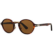 Buy Persol PO3129S Unisex Polarised Round Sunglasses Online at johnlewis.com