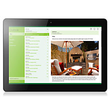 "Buy Lenovo Miix 300 Tablet, Intel Atom, 2GB RAM, Windows 8.1, 10.1"", 32GB, Wi-Fi, Black Online at johnlewis.com"
