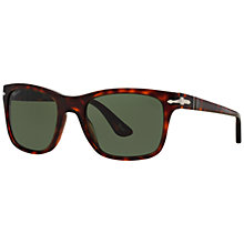 Buy Persol PO3135S Square Sunglasses, Tortoise Online at johnlewis.com