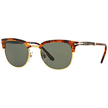Buy Persol PO3132S Phantos Polarised Half Frame Sunglasses Online at johnlewis.com
