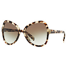 Buy Prada PR05SS Cat's Eye Sunglasses Online at johnlewis.com