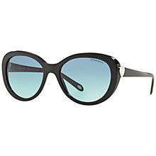 Buy Tiffany & Co TF4113 Oval Sunglasses Online at johnlewis.com