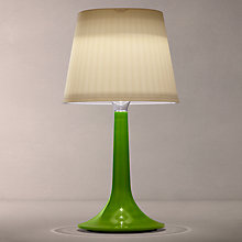 Buy Konstsmide Assisi Solar Table Lamp, Green Online at johnlewis.com