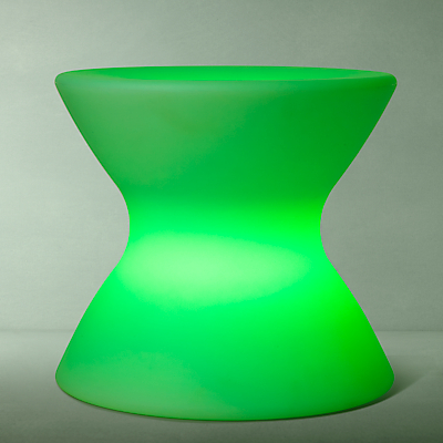 John Lewis Yoyo Stool LED Colour Changing Outdoor Light