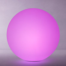 Buy John Lewis Ball Colour Changing LED Outdoor Light, Dia.50cm Online at johnlewis.com