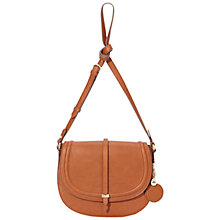 Buy Nica Millie Saddle Bag, Tan Online at johnlewis.com
