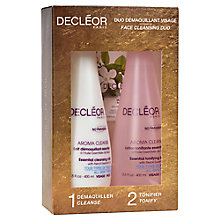Buy Decléor Aroma Cleanse Face Duo Skincare Gift Set Online at johnlewis.com