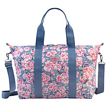 Buy Cath Kidston Blossom Bunch Foldaway Bag, Blue Online at johnlewis.com