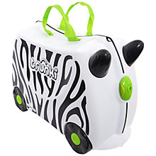Buy Trunki Zimba the Zebra, White Online at johnlewis.com
