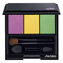 Buy Shiseido Luminising Satin Eyeshadow Trio, Tropicalia Online at johnlewis.com