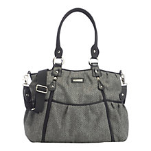 Buy Storksak Olivia Changing Bag, Tweed Online at johnlewis.com