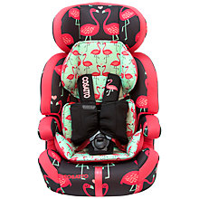 Buy Cosatto Zoomi Group 1, 2 & 3 Car Seat, Flamingo Fling Online at johnlewis.com