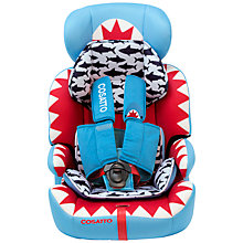 Buy Cosatto Zoomi 5 Point Plus Group 1, 2 & 3 Car Seat, Big Fish Online at johnlewis.com