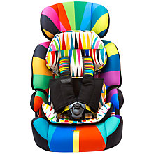 Buy Cosatto Zoomi 5 Point Plus Group 1, 2 & 3 Car Seat, Go Brightly Online at johnlewis.com