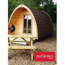 Buy Red Letter Days One Night Glamping Break For 2 Online at johnlewis.com