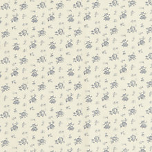 Buy John Louden Cotton Floral Print Fabric, Cream Online at johnlewis.com
