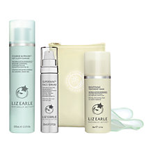 Buy Liz Earle Superskin™ Face Serum, 30ml and Cleanse & Polish™ Hot Cloth Cleanser, 100ml with Liz Earle Free Gift: Brightening Treatment Mask™, 50ml Online at johnlewis.com