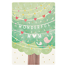 Buy James Ellis Stevens Birds In Tree Mother's Day Card Online at johnlewis.com