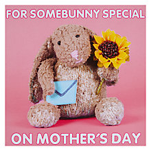 Buy For Some Bunny Special Mother's Day Card Online at johnlewis.com