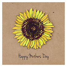 Buy Happy Mothers Day Sunflower Mother's Day Card Online at johnlewis.com