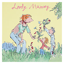 Buy Lovely Mummy Boy And Girl Mother's Day Card Online at johnlewis.com