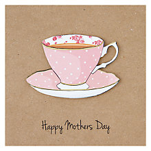 Buy Happy Mothers Day Teacup Mother's Day Card Online at johnlewis.com