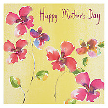 Buy Pretty Flowers Happy Mother's Day Card Online at johnlewis.com