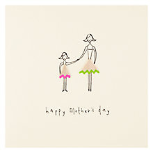 Buy Mother and Daughter Mother's Day Card Online at johnlewis.com