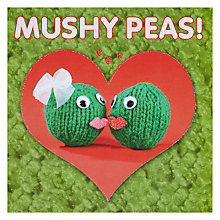 Buy Mushy Peas Valentine's Day Card Online at johnlewis.com