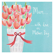Buy Mum... With Love On Mother's Day Card Online at johnlewis.com